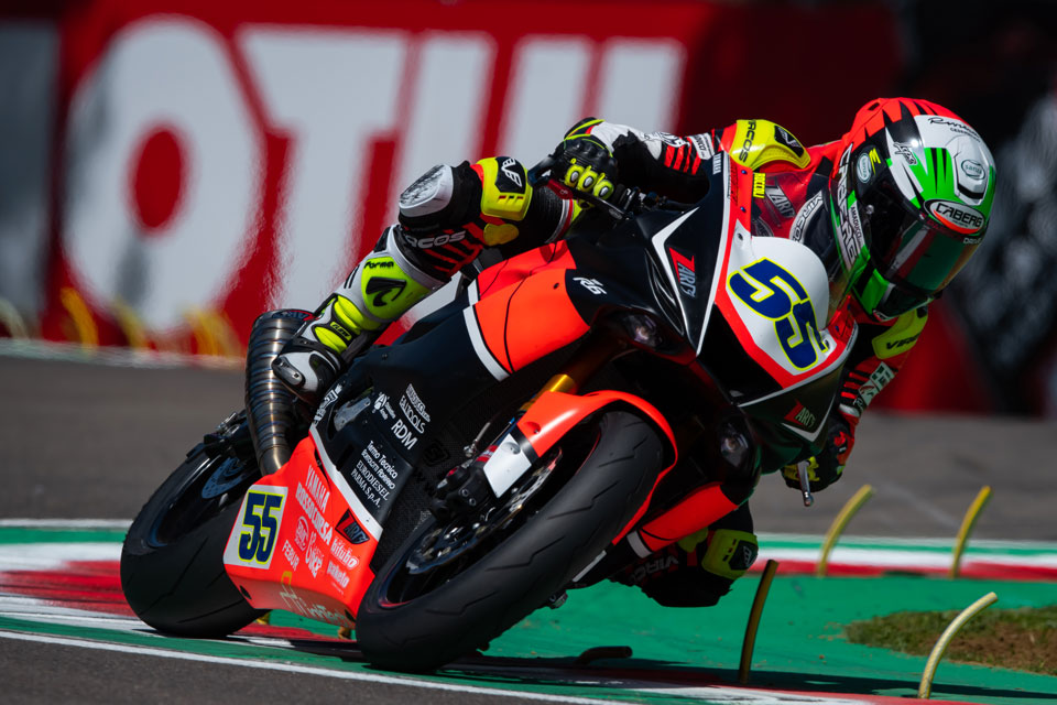 Roccoli Wild Card a Misano nel Mondiale SuperSport