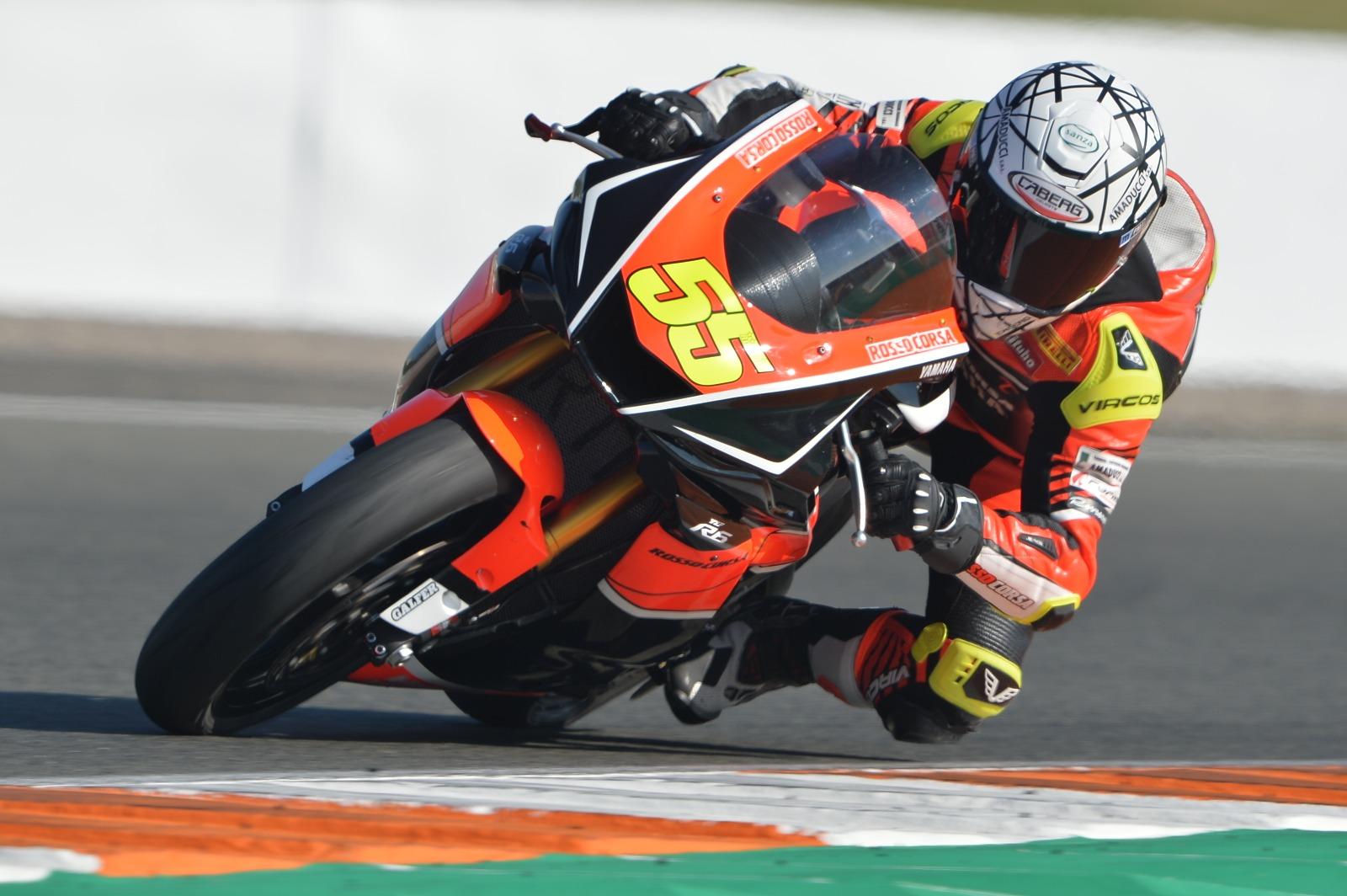 Massimo Roccoli attende di poter tornare presto in pista